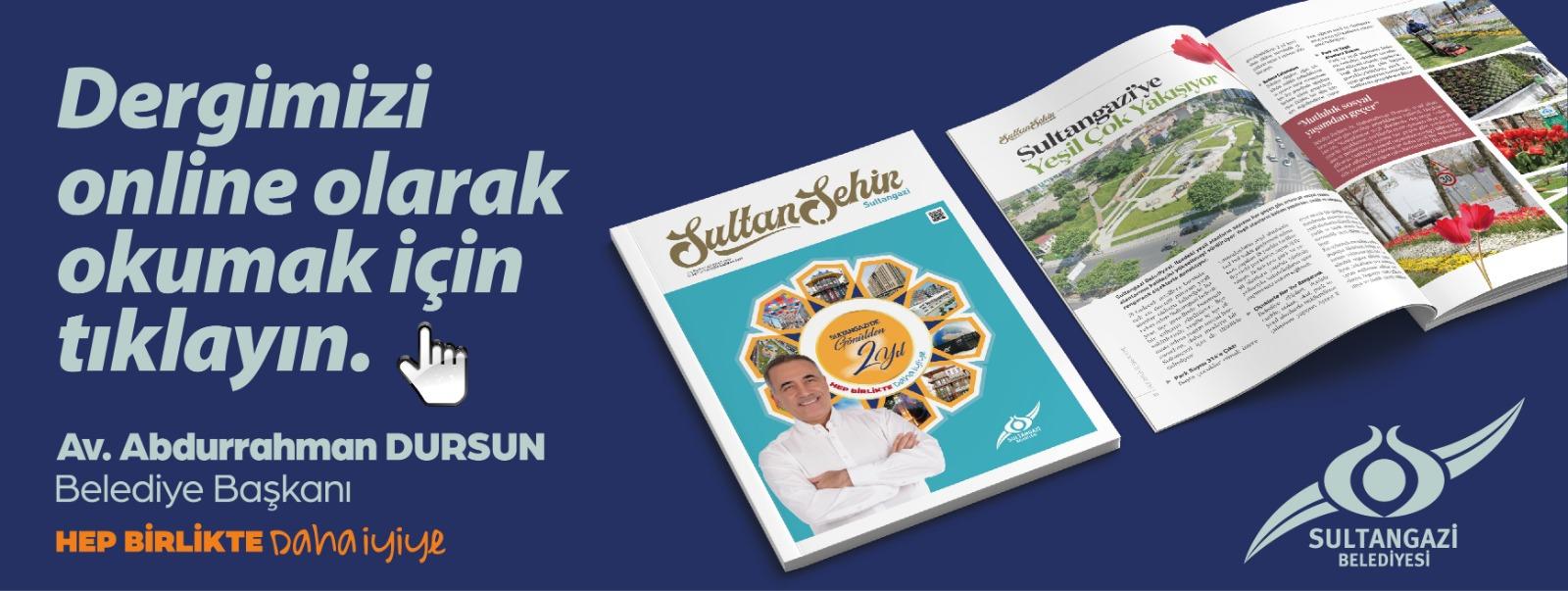 Sultangazi Belediyesi Haziran 2021 Dergi Yayını