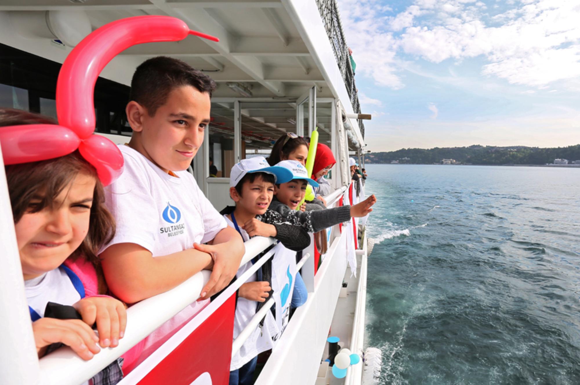 Dünya Yetimleri İstanbul'u Keşfetti